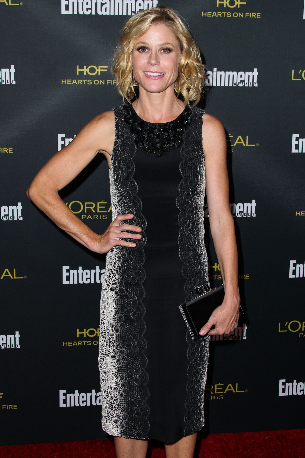 JULIE BOWEN at Entertainment Weekly's Pre-emmy Party