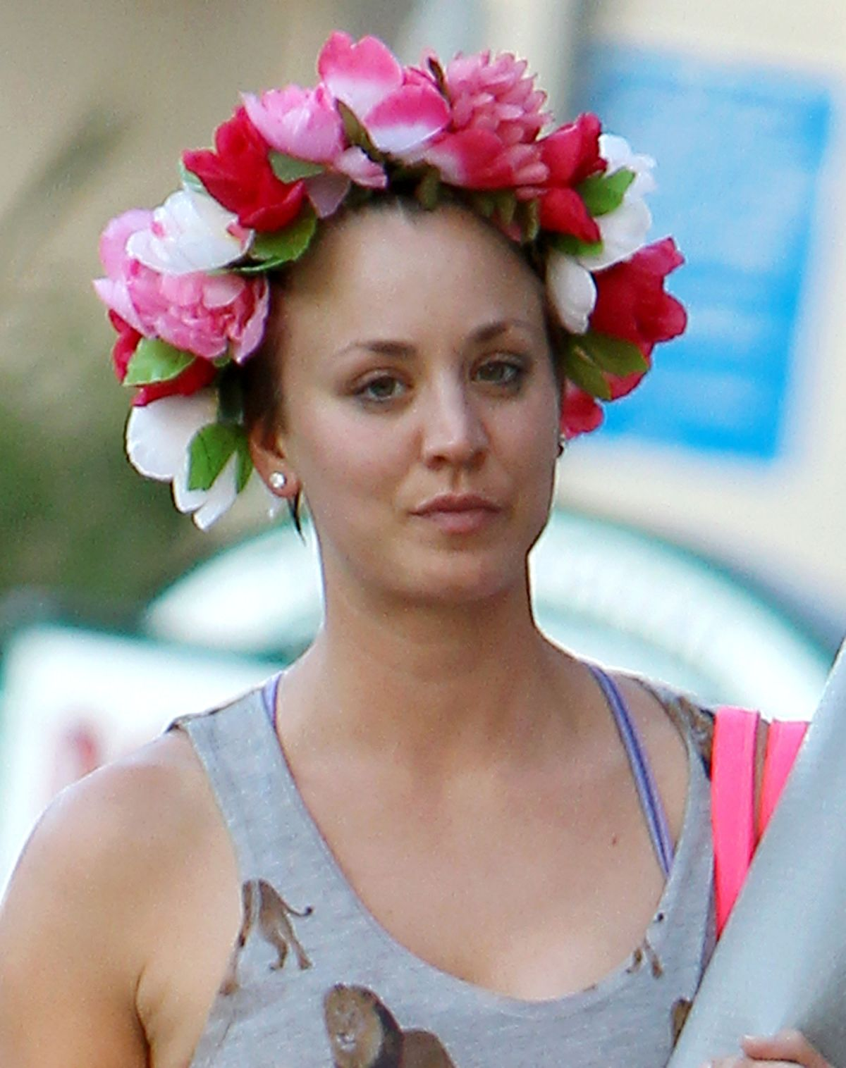 KALEY CUOCO Leaves a Yoga Class in Los Angeles