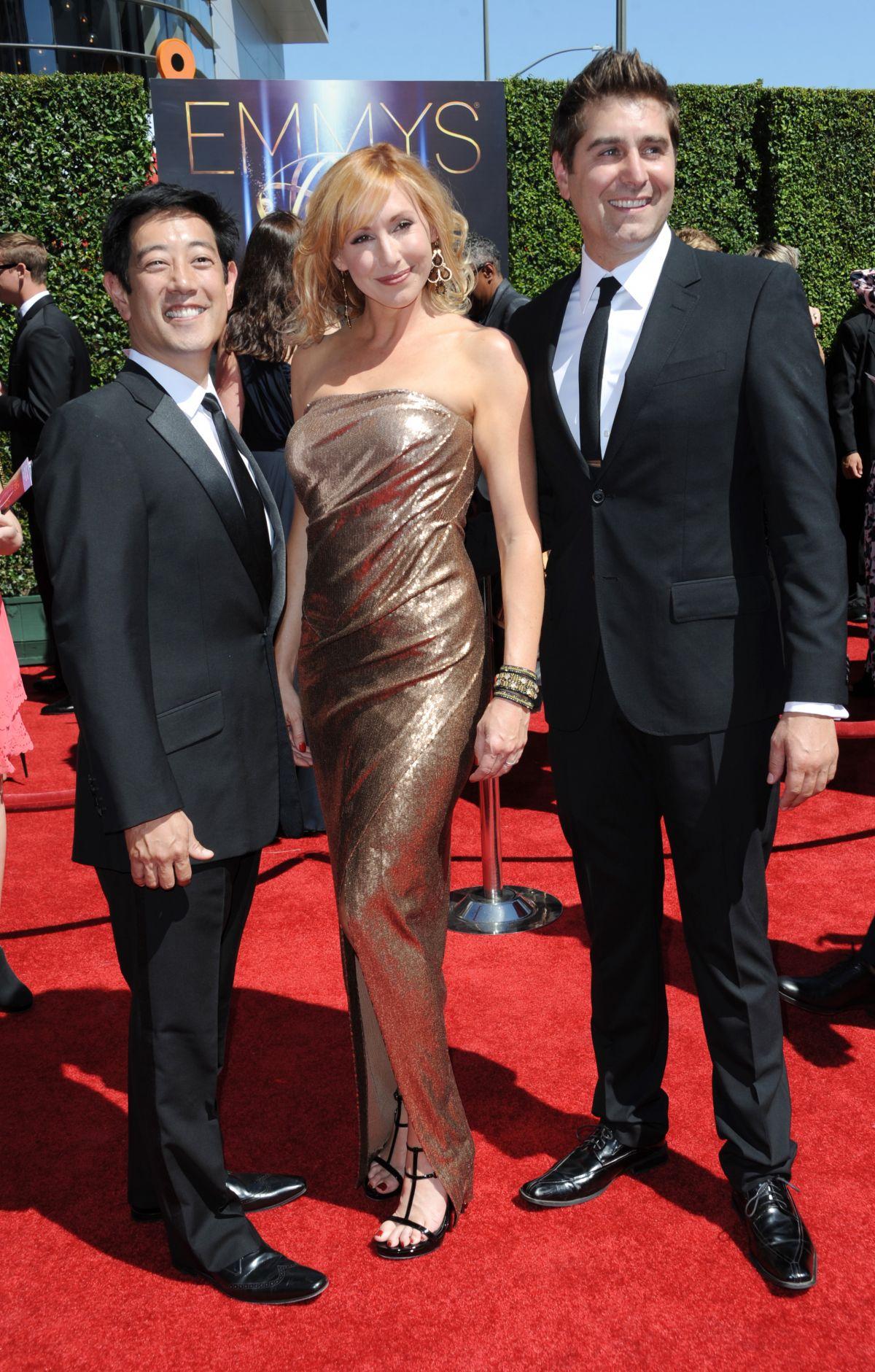 KARI BYRON at 2014 Creative Arts Emmy Awards in Los Angeles