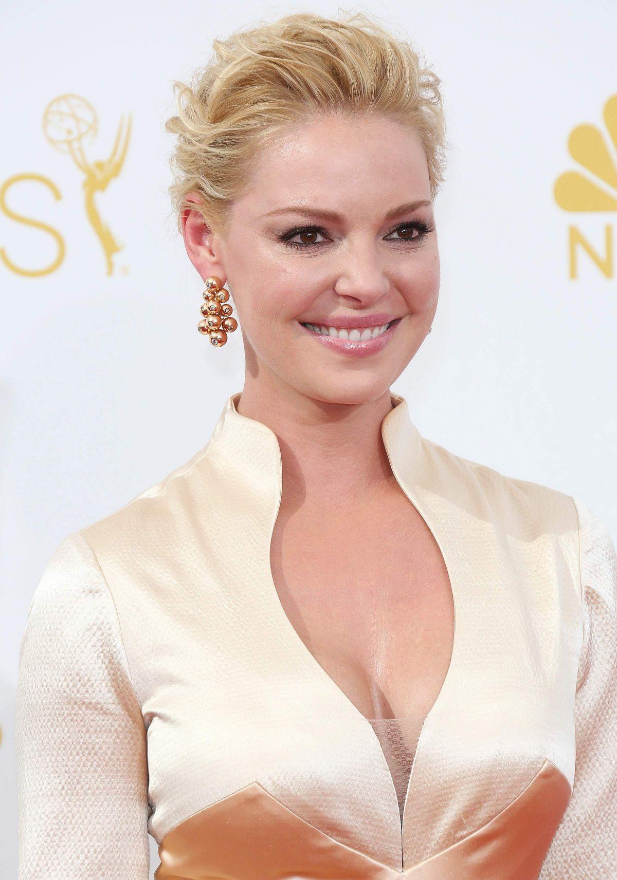 KATHERINE HEIGL at 2014 Emmy Awards - HawtCelebs - HawtCelebs Katherine Heigl