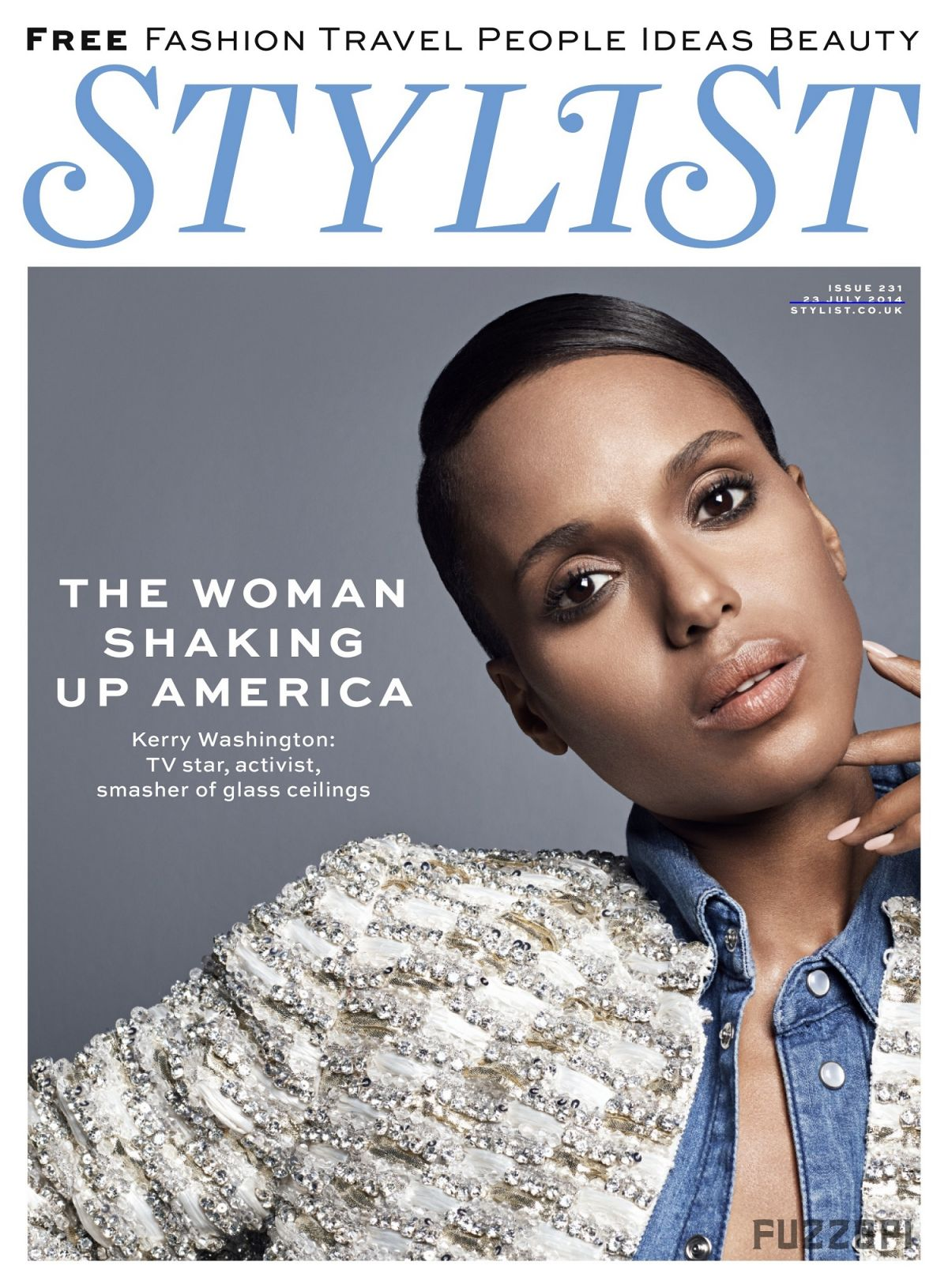 KERRY WASHINGTON In Stylist Magazine