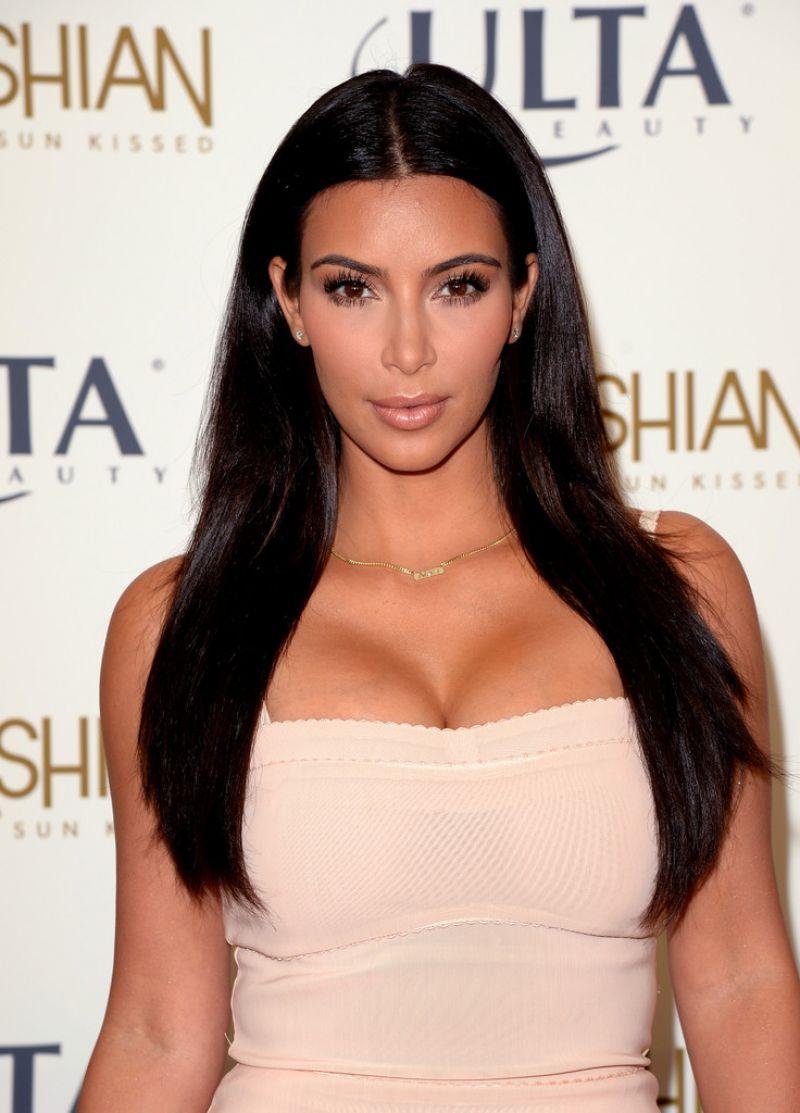 KIM KARDASHIAN at Kardashian Sun Kissed Promo Event