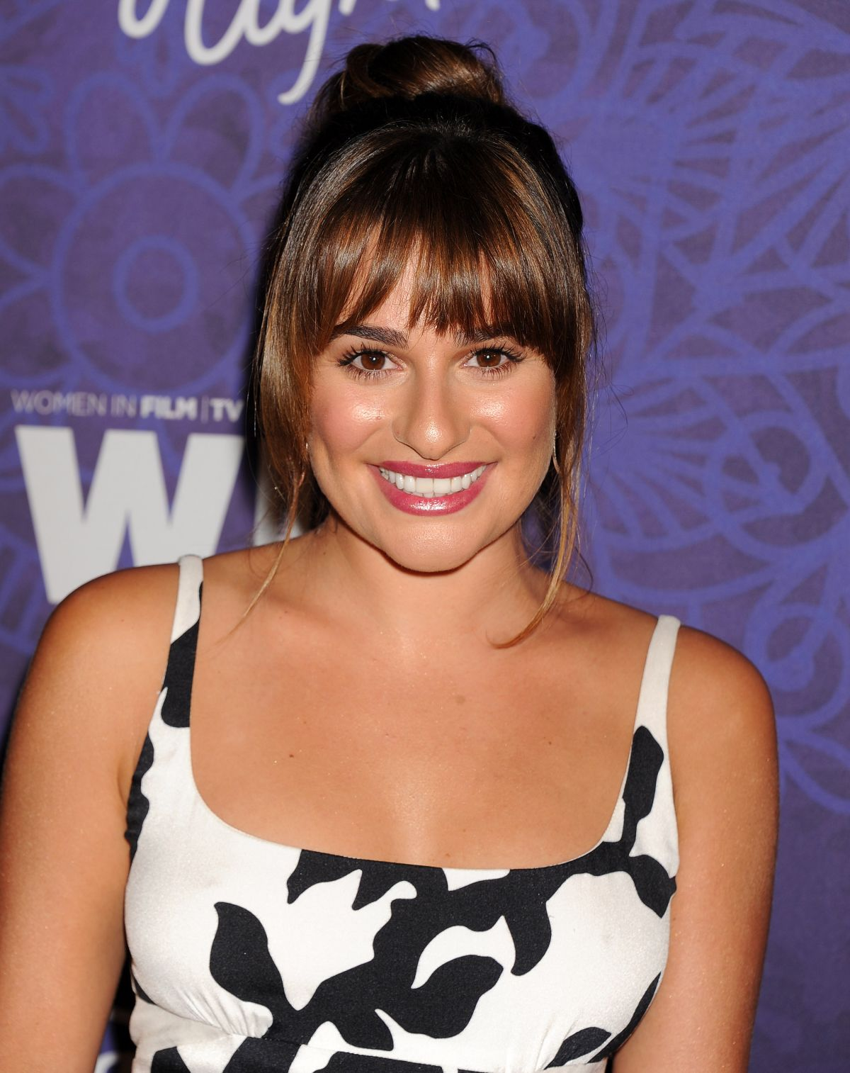 LEA MICHELE at Vriety and Women in Film Emmy Nominee Celebration