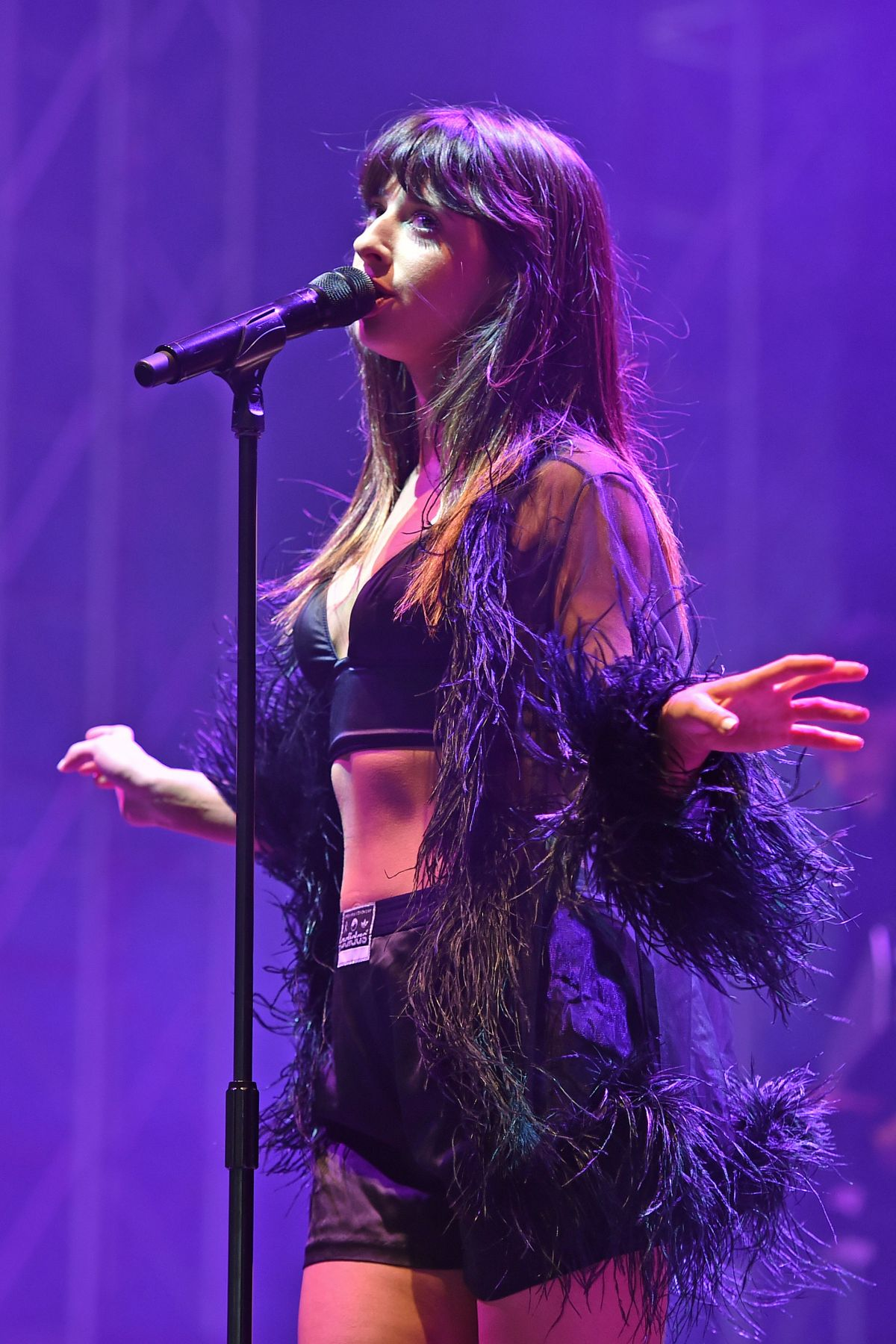 LOUISA ROSE ALLEN Performs at V Festival in Chelmsford