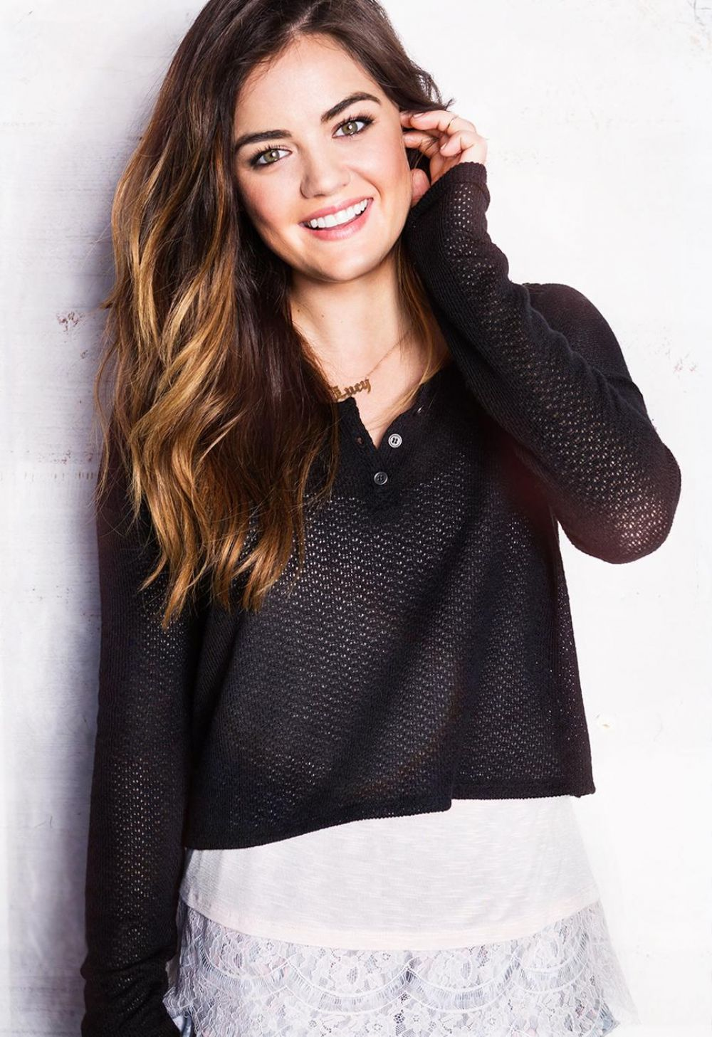 LUCY HALE - Hollister Clothing Promoshoot
