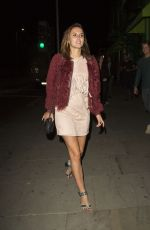 LUCY WATSON NIght Out in London