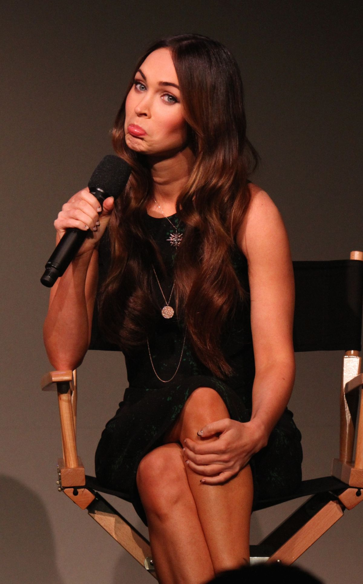 MEGAN FOX at Press Conference at Apple Soho Store in Manhattan