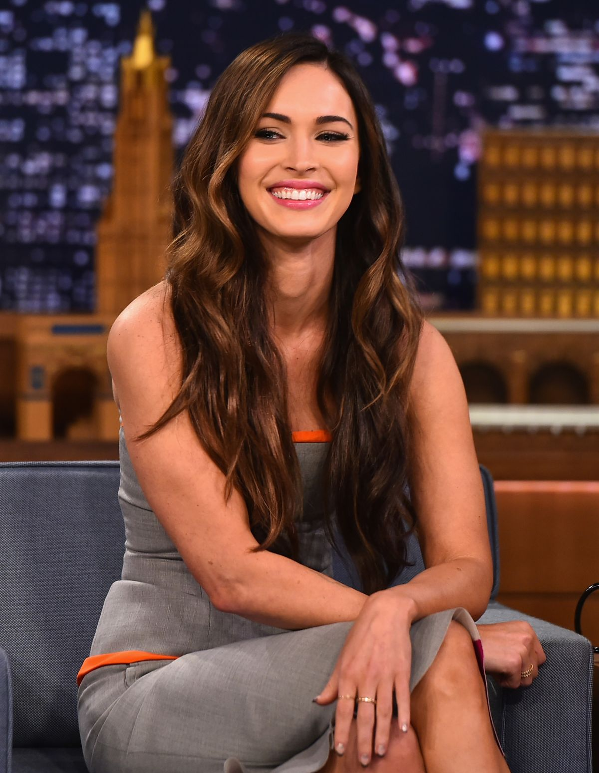 MEGAN FOX at The Tonight Show Starring Jimmy Fallon in New York