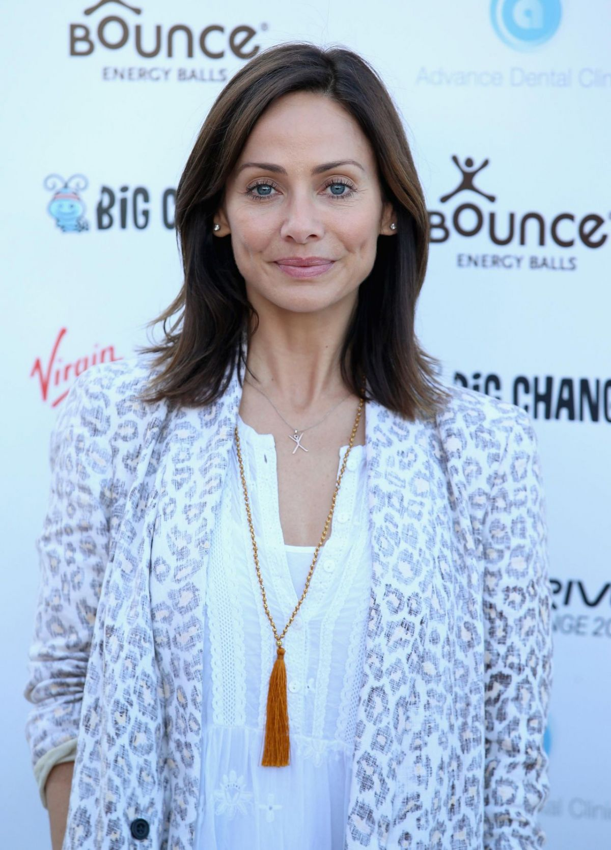 NATALIE IMBRUGLIA at Virgin Strive Challenge Photocall in London