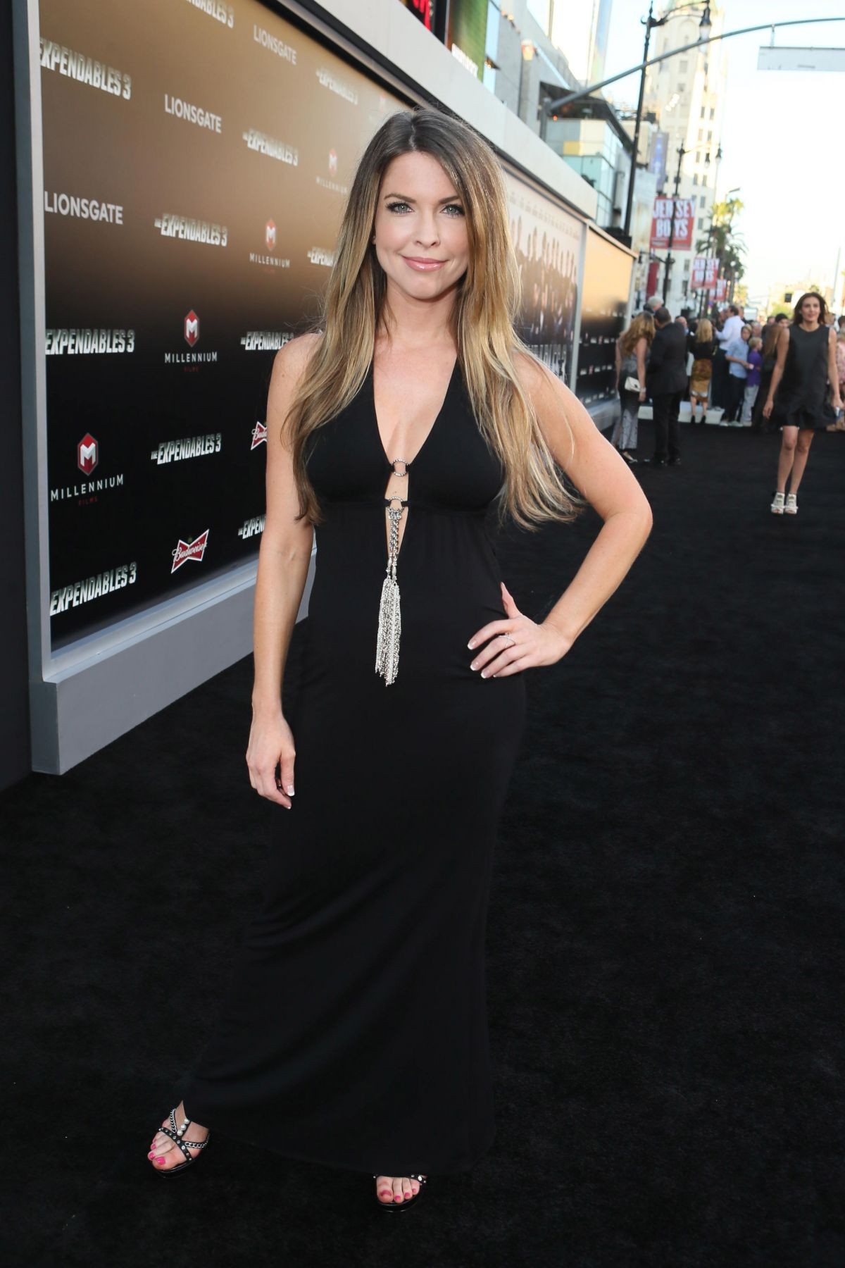 NICOLE ANDREWS at The Expendables 3 Priemere in Los Angeles