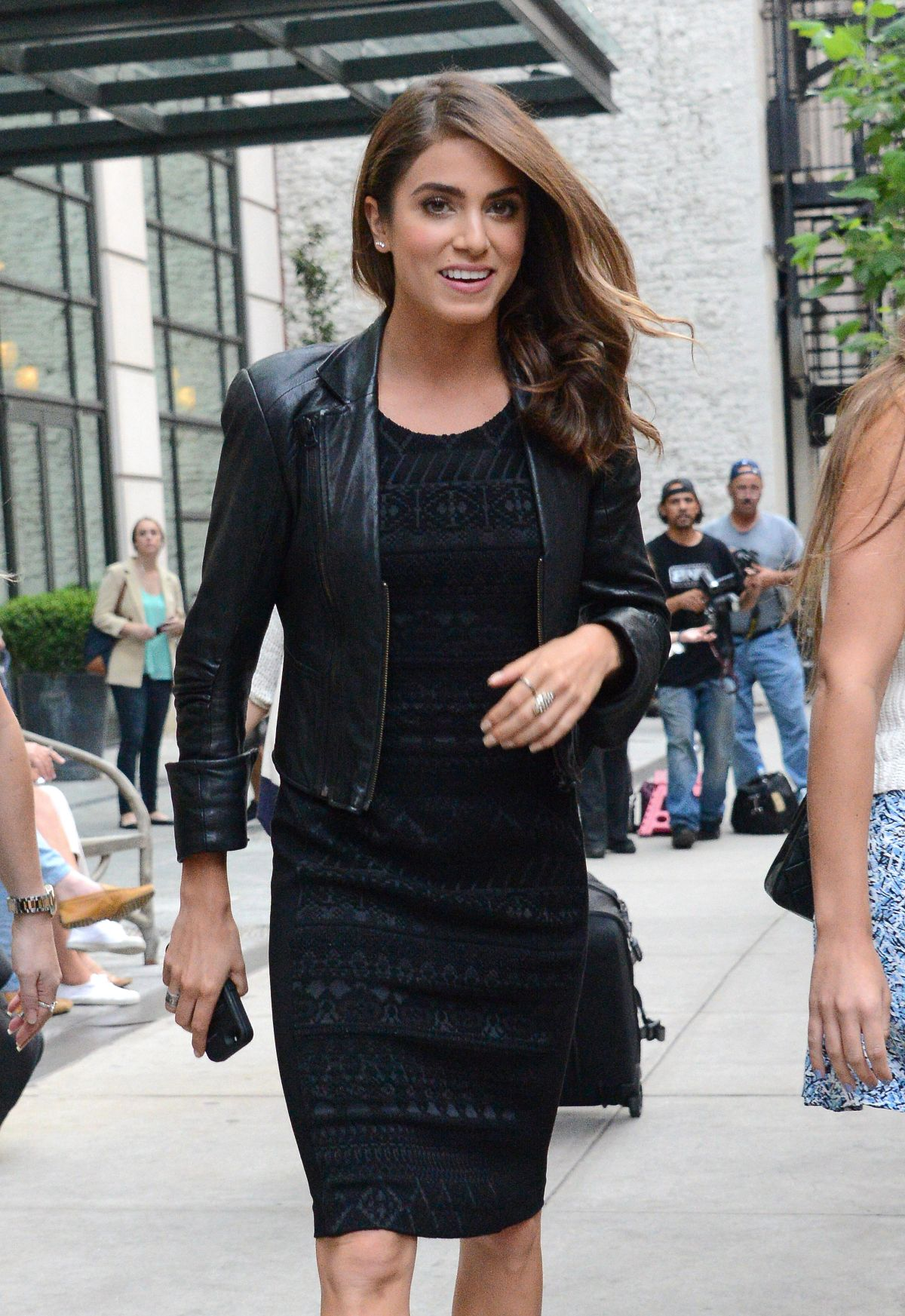 NIKKI REED Arrives at Crosby Hotel