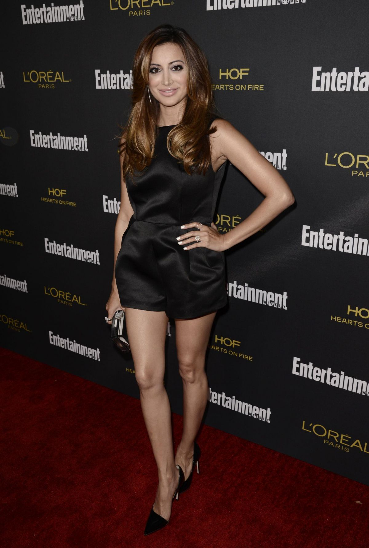 NOREEN DEWULF at Entertainment Weekly's Pre-emmy Party
