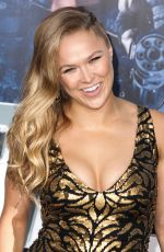 RONDA ROUSEY at The Expendables 3 Premiere in Hollywood