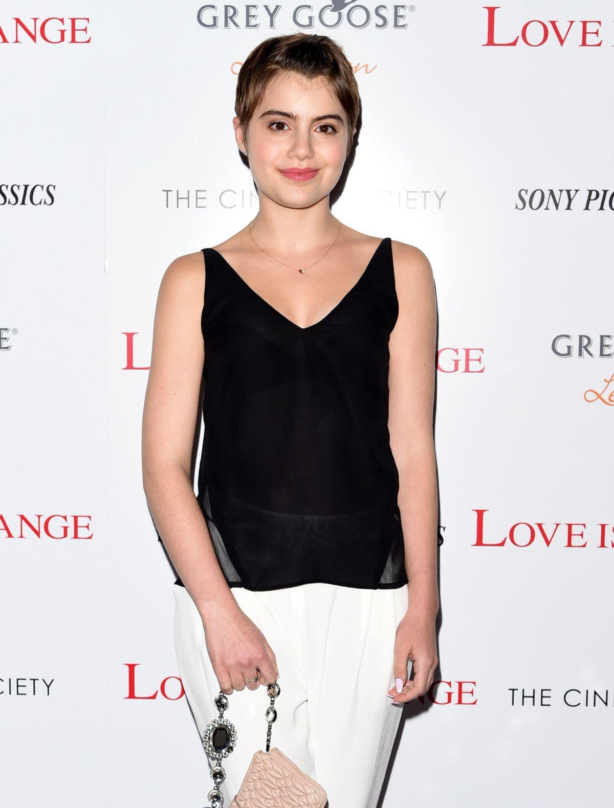 SAMI GAYLE at Love Is Strange Screening in New York