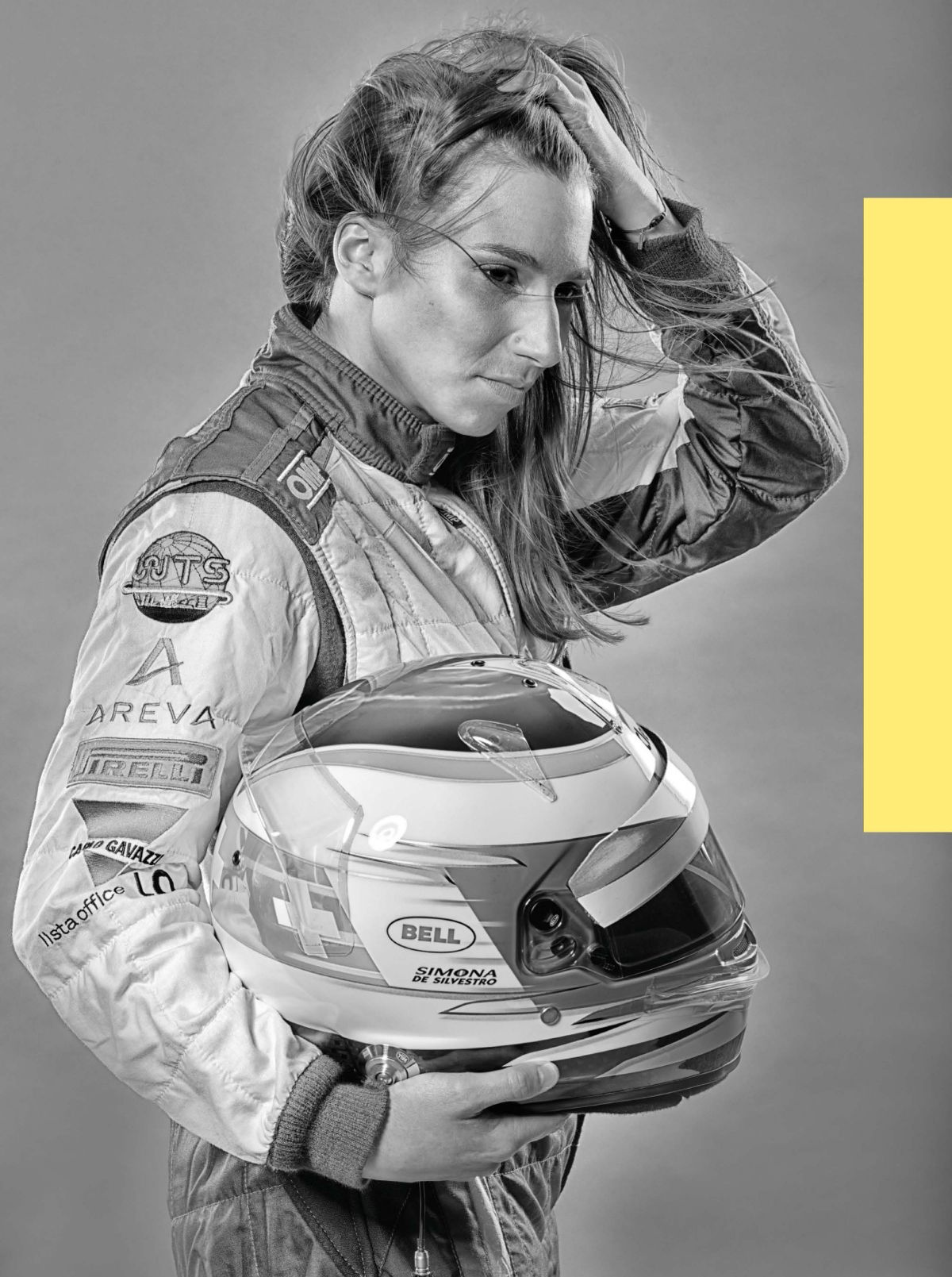 SIMONA DE SILVESTRO in F1 Racing Magazine, September 2014 Issue