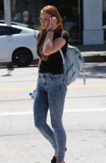 SOPHIE TURNER Out and About in Beverly Hills