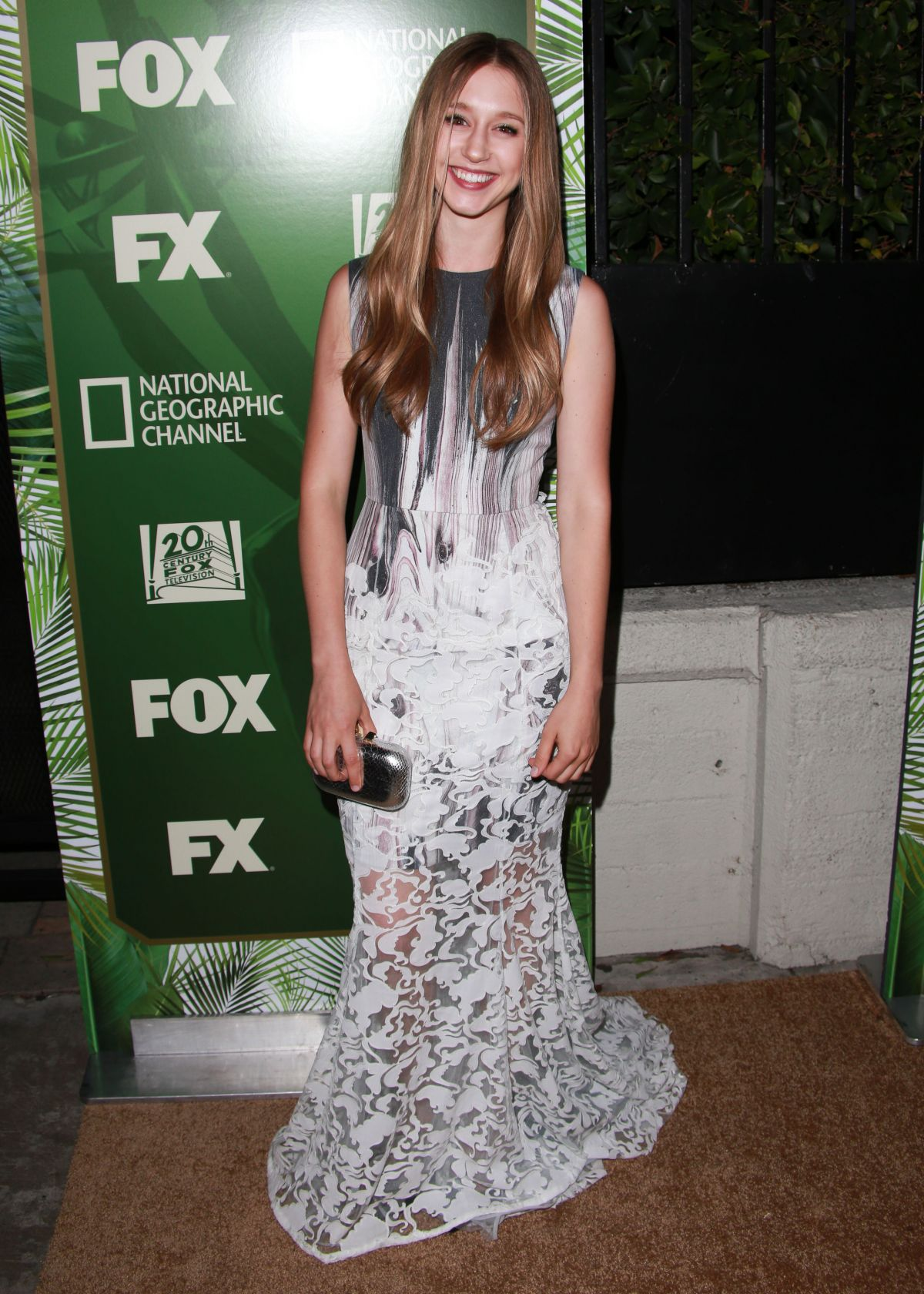 TAISSA FARMIGA at Fox FX National Geographic Emmy Party