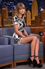 TAYLOR SWIFT at Tonight Show Starring Jimmy Fallon in New York