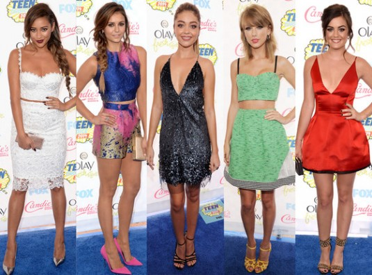 Best Dressed at the 2014 Teen Choice Awards: Nina Dobrev, Taylor Swift, Shay Mitchell and More