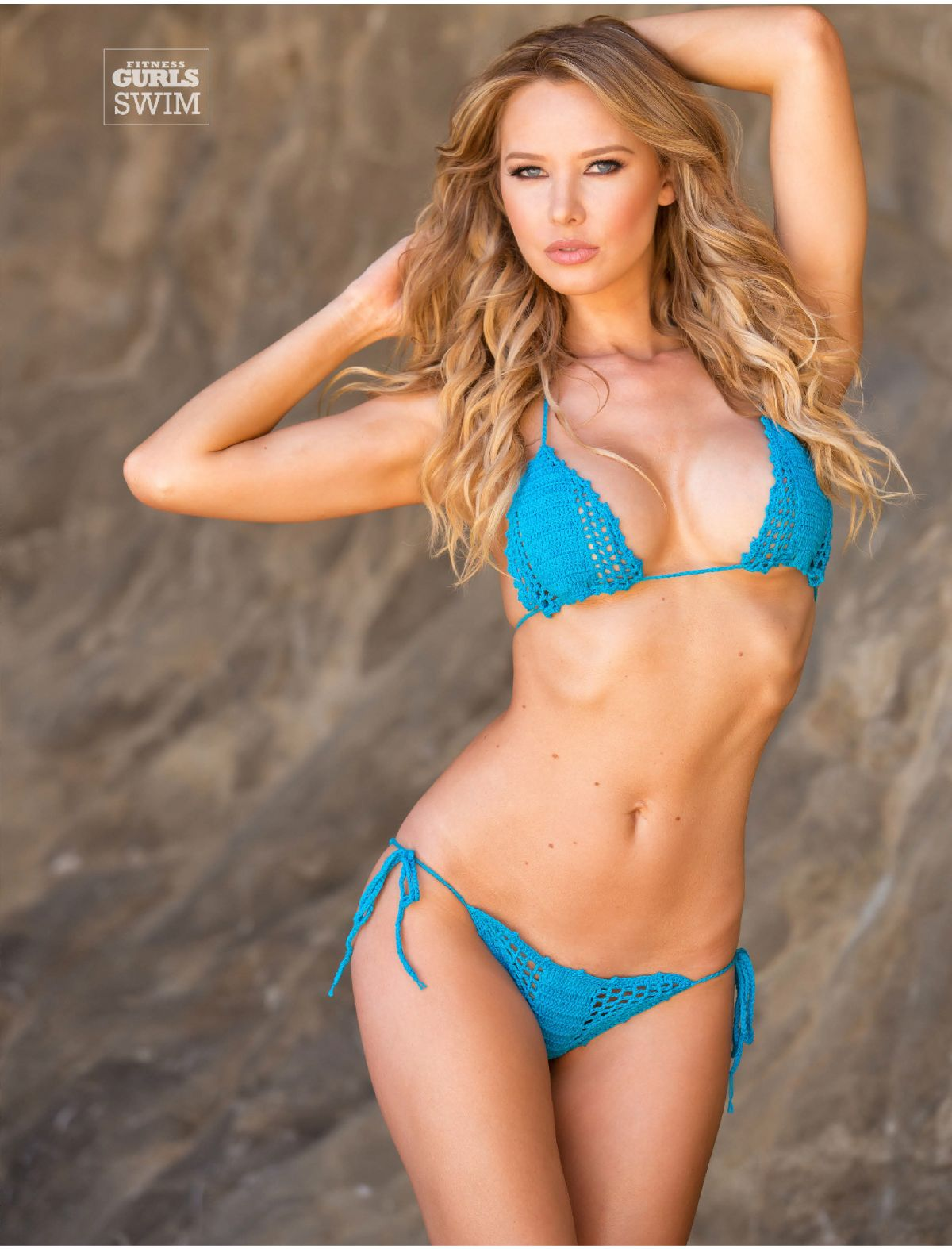 TIFFANY TOTH in Fitness Gurls Magazine, July 2014 Issue