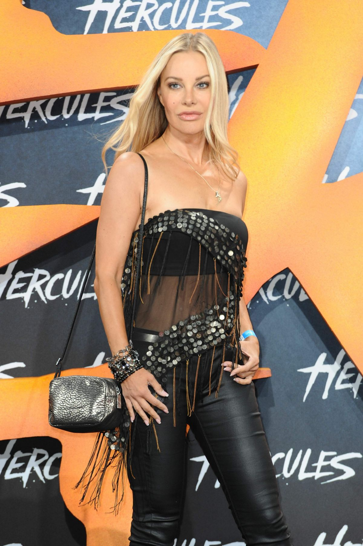XENIA SEEBERG at Hercules Premiere in Berlin
