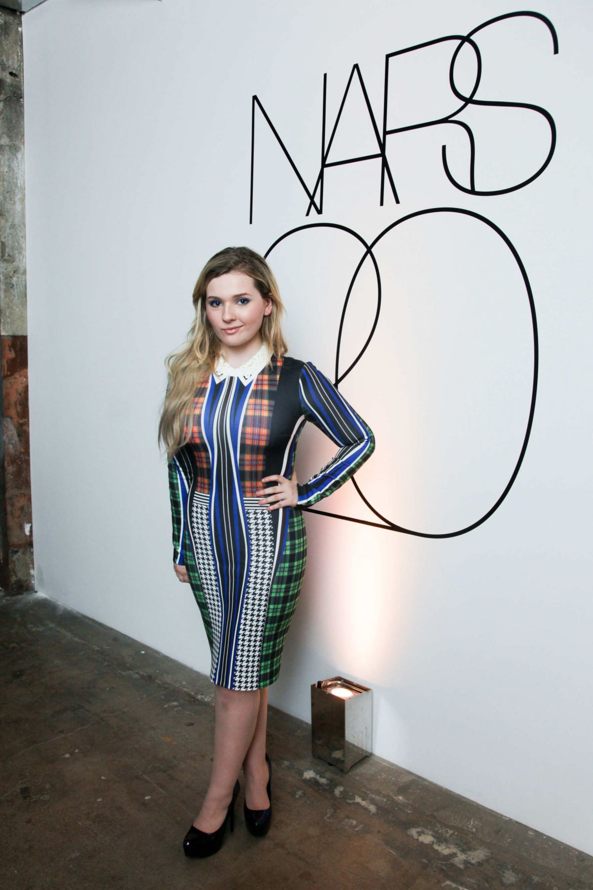ABIGAIL BRESLIN at Nars 20th Anniversary Party in New York