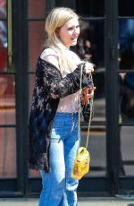 ABIGAIL BRESLIN Leaves Bowery Hotel in New York