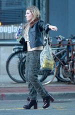 ABIGAIL BRESLIN Out and About in New York