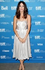 ABIGAIL SPENCER at The Forger Press Conference in Toronto