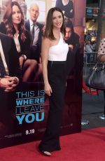 ABIGAIL SPENCER at This Is Where I Leave You Premiere in Hollywood