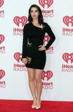 ADELAIDE KANE at 2014 Iheartradio Music Festival in Las Vegas
