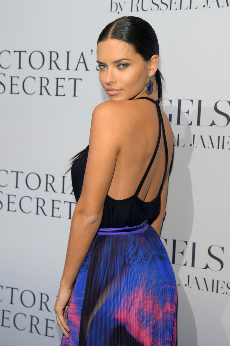 ADRIANA LIMA at Russell James' Angek Book Launch in New York