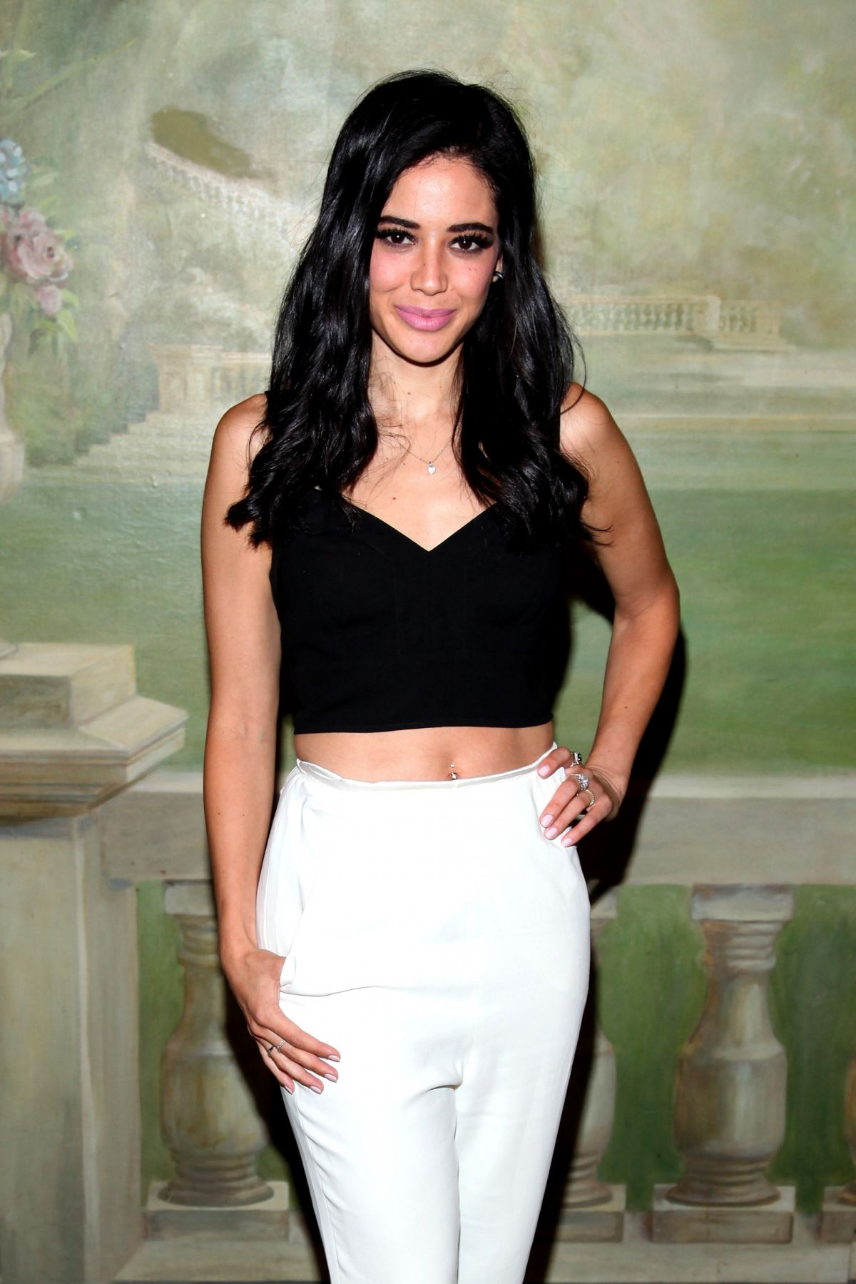 ADY GANEM at Alice+Olivia by Stacey Bendet Fashion Show in New York