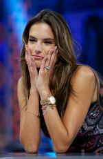 AELSSANDRA AMBROSIO at El Hormiguero TV Show in Madrid