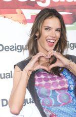 ALESSANDRA AMBROSIO at Desigual Cibeles Fashion Show in New York