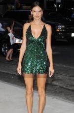 ALESSANDRA AMBROSIO at Fashion Media Awards in New York