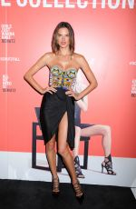 ALESSANDRA AMBROSIO at Schutz Footware Launch in Madison Avenue