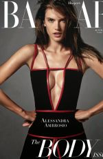 ALESSANDRA AMBROSIO in Harper's Bazaar Magazine, Australia October 2014 Issue