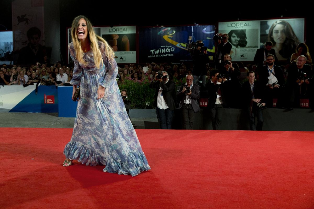 ALESSIA FABIANI at The Humbling Premiere in Venice