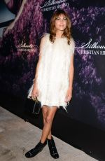 ALEXA CHUNG at Christian Siriano Fragrance Launch in New York