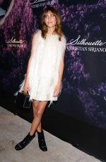 ALEXA CHUNG at Christian Siriano Fragrance Launch in New York