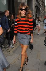 ALEXA CHUNG at London Fashion Week