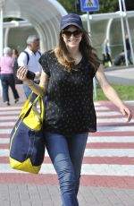 ALEXANDRA DADDARIO Arrives at Her Hotel in Venice