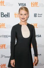 ALICE EVE at Before We Go Premiere in Toronto