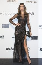 ALLESANDRA AMBROSIO at Amfar 2014 Gala in Milan
