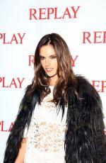 ALLESANDRA AMBROSIO at Replay Store Preview at Milan Fashion Week