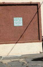 ALLISON HOLKER Leaves DWTS Rehearsal Studio in Los Angeles