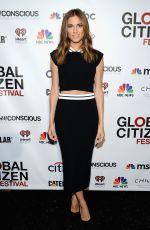 ALLISON WILLIAMS at Global Citizen Festival in New York