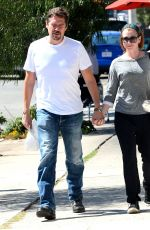 ALYSON HANNIGAN and Alexis Denisof Out for Lunch at Toast in Los Angeles