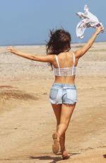 AMANDA CERNY at a Photoshoot in Aruba
